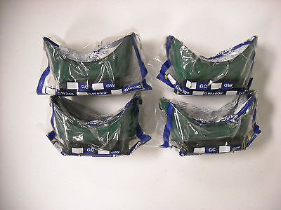 Four (4) pair North Safety GW200 Flip-up Welding / Cutting Goggles