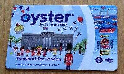2012 London Olympics Oyster card - limited edition - COLLECTABLE ITEM