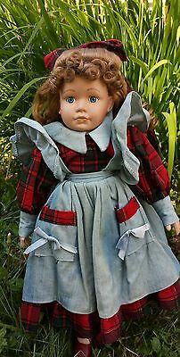 Haunted Doll Story w/ Porcelain Doll  Amish Girl.. (Melody) age 10 yrs old