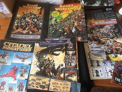 Warhammer selection of booklets etc