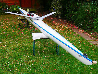 Sims Genesis single racing sculling boat for 65-80kg sculler