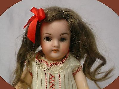 "ANTIQUE Kley & Hahn WALKURE 7.5"" Doll SUPER CUTE"