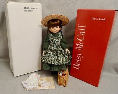 """JUST BETSY McCALL DOLL by TONNER with SPECIAL OUTFIT -  14"""" - DARLING & RARE"""