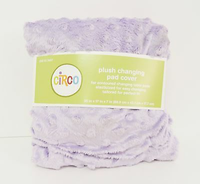 New Circo Plush Changing Pad Cover 35 in x 17 in x 7 in