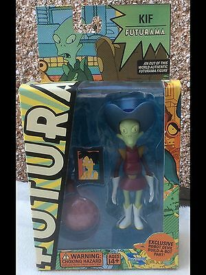 Futurama Figure Kif Toynami Carded Sealed With Robot Devil Build A Figure Part