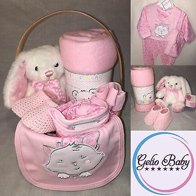 Baby Girls 7 Piece / Gift Basket / Hamper / Gift Set / Newborn / Baby Shower