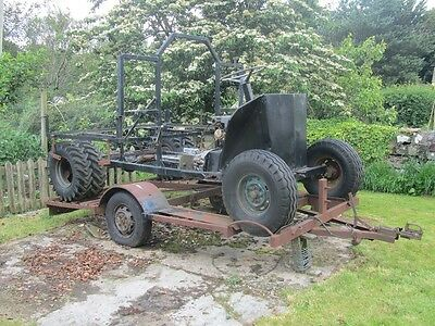 Limpet, ATV simple design, forestry agricultural work vehicle