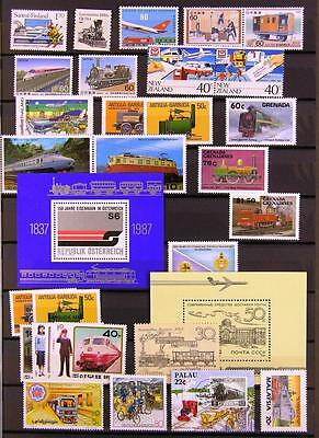 (940662) Train, Transport, Small lot, Railway, Miscellaneous, World
