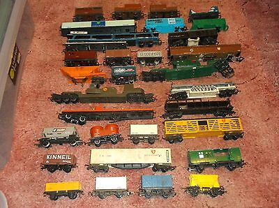 31 hornby triang wagons