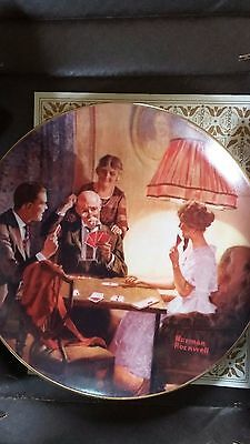 """Norman Rockwell Knowles Plate, """"This is the Room that Light Made"""", Ltd Edition"""