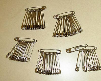 2 Inch #3 Safety Pins Lot Of 75+ New Without Tags Or Box