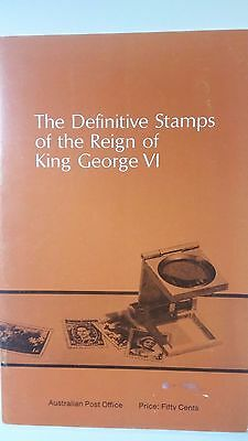 Australia: The Definitive Stamps of the Reign of King George VI  (no stamps)