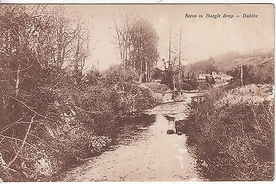 Ireland: Postcard, Scene in Dargle Bray; Old Town to King's Langley, 15 Sep 1924