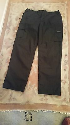 GENTS Mountain Life Outdoor Company - Men's Trek Trousers -BLACK  Size 36 waist