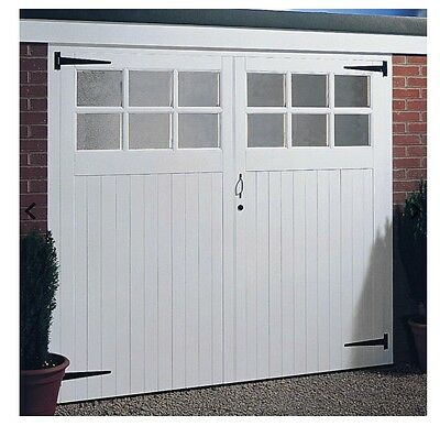 Wooden garage doors unglazed, any size made to measure, the yorkshire 7x7ft