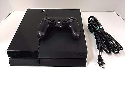 Sony PlayStation 4 PS4 500GB Console w/ power cord & controller