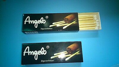 Cigar matches,2 Packs with 38 Pcs,New