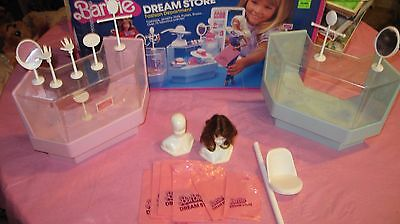 1982 Barbie's Dream Store Fashion Department Show Cases Shopping bags