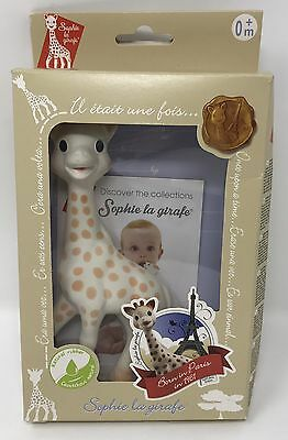 Vulli Sophie the Giraffe Baby Teether Natural Rubber Pacifier NEW | Ships Free