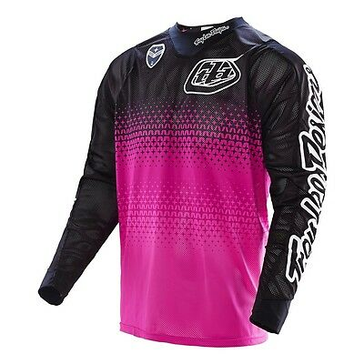 Troy Lee Designs SE Air Jersey Starburst Pink/Black