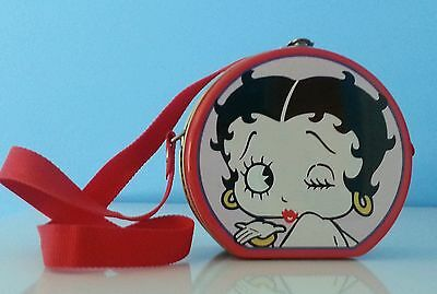 1998/99 King Features / Hearst Corp Betty Boop Collectible Tin Box Mini Purse