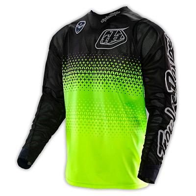Troy Lee Designs SE Air Jersey Starburst Green/Black