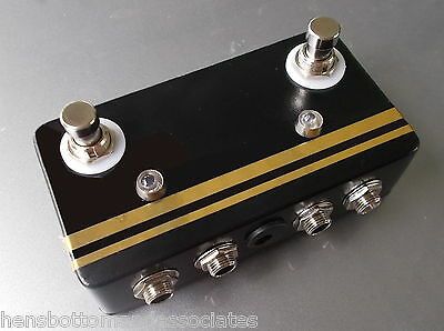 Passive Dual True Bypass Looper Guitar  Pedal  - Effects FX Send / Receive