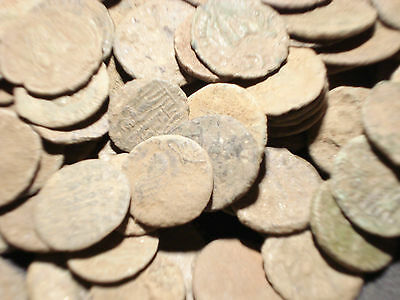 25 Quality Uncleaned Roman coins - 100% authentic- FREE SHIPPING !!!!