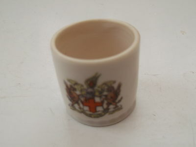 Small Gemma Crested China Tub / Pot  No Town Name Under Crest