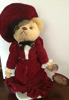 GABRIELLE Brass Button Bear 20th Century Collectibles 1910s dress WITH TAGS