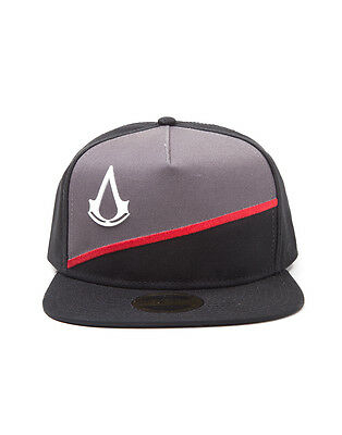 Official Assassin s Creed - Crest Black  Grey Snapback Cap (Brand ... 044be2960cd1
