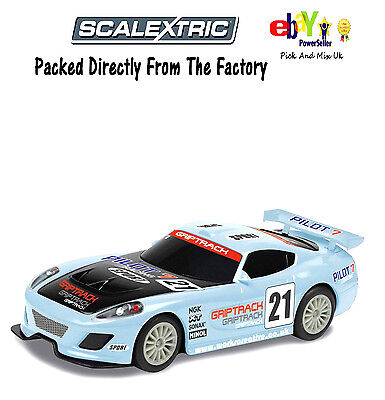 Scalextric Slot Car GT Lightning - Blue C3472. NO RESERVES PRICE