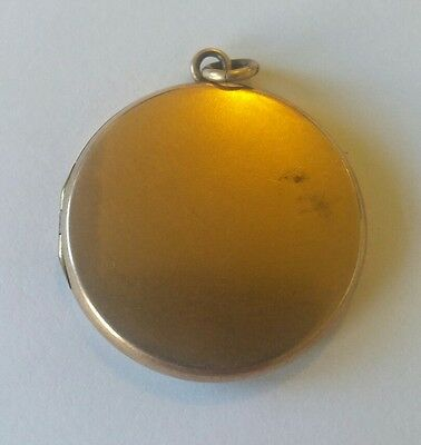 Antique Victorian Gold Filled Locket Pendant 1 1/8""