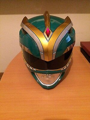 Aniki Cosplay Green Power Ranger Helmet