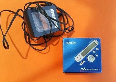 walkman SONY MZ-N710 Portable Mini Disc Recorder Vintage