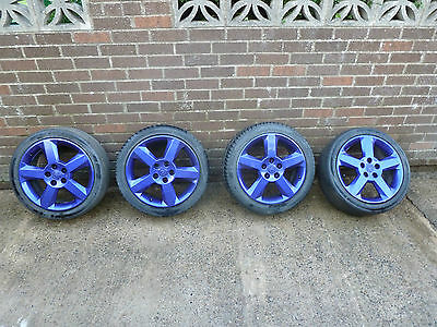 "Vauxhall Astra Coupe Turbo Alloy Wheels 17"" 5x110"
