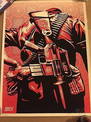 Duality Of Humanity 3 Shepard Fairey Obey Signed & Numbered Art Print