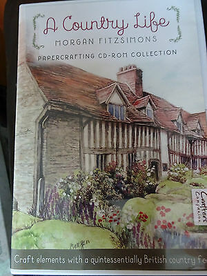 Morgan Fitzsimons A Country Life Papercrafting CD Crafters Companion