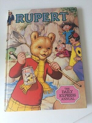 Pre-Owned: Vintage Rupert Annual 1986