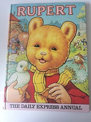 Pre-Owned: Vintage Rupert Annual 1981