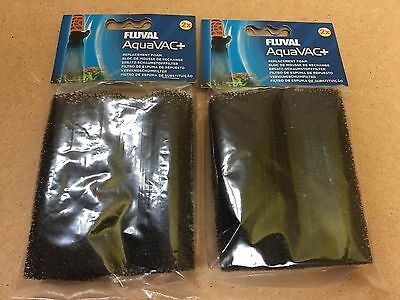 FLUVAL AQUAVAC+ 4 REPLACEMENT FOAM FILTERS for Water Changer & Gravel Cleaner