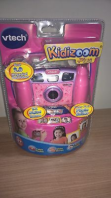 VTech Kidizoom Plus Camera Pink Children's Toy, NEW STILL IN ORIGINAL PACKAGING