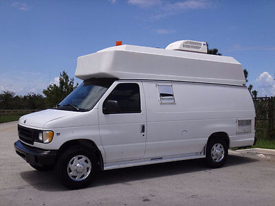1999 Ford E-Series Van High Top Ford E350 Ext High Top FL Van 87k Miles 5.4L V8 Mobile Dog Grooming RV Camper