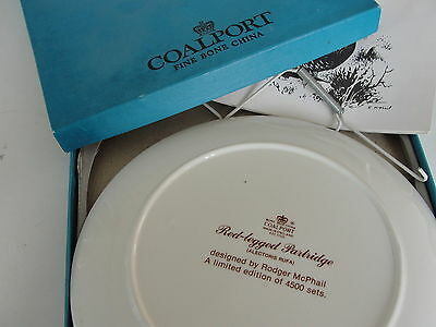 Coalport Bone China Decorative Bird Plate In Box W Hanging