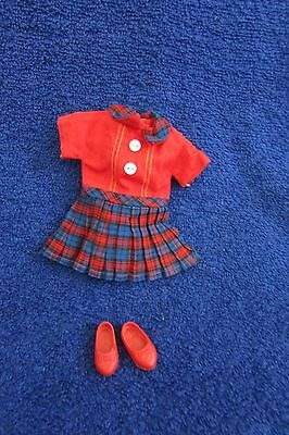Ideal Pepper Doll Dress and Shoes