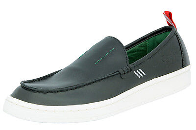 adidas Originals BW LOAFER Chaussures Mocassin Homme Cuir Noir Bedwin and The He
