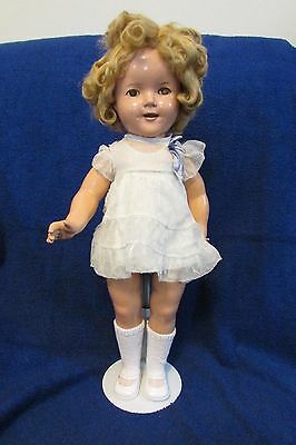 Antique Ideal Composition Shirley Temple Doll