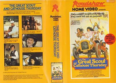 The Great Scout And Cathouse Thursday  Beta  Video Pal~ A Rare Find~