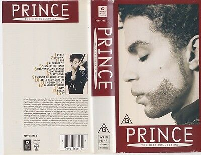 Prince The Hits Collection  Vhs Pal Video Rare