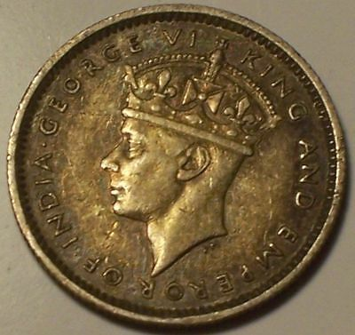 British Honduras, 1939 George VI Ten Cents, 10 Cents. 20,000 Mintage.